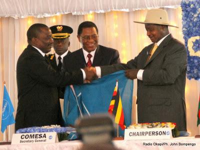 Uganda Hands Over COMESA Chairmanship to DRC Congo