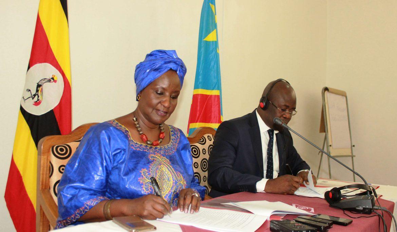 Uganda and DRC sign Memorandum of Understanding Establishing a Bilateral Framework for Enhancing Cross Border Trade