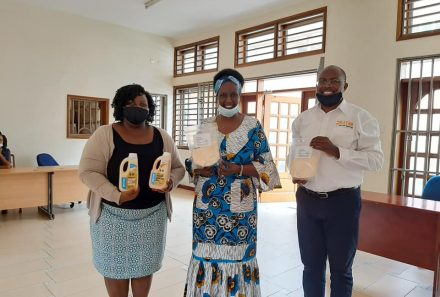Hon. Amelia Kyambadde pays a visit at Pristine Foods Limited