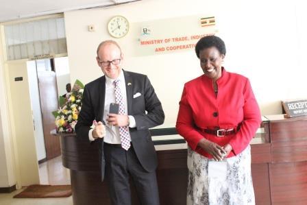 Swedish Ambassador Farewell
