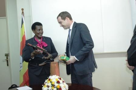 UK Envoy Visit