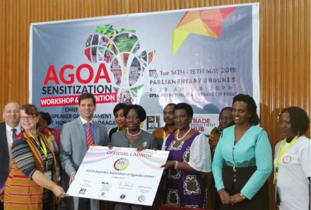 AGOA Sensitisation Workshop And Exhibition 14th To 15th May 2019
