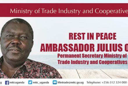 Ministry of Trade Mourns It's Permanent Secretary