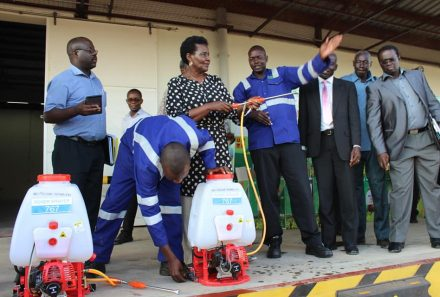 Ministry of Trade provides Spray pumps through UDC