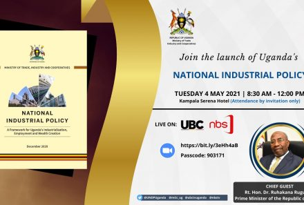 Launch of the National Industrial Policy